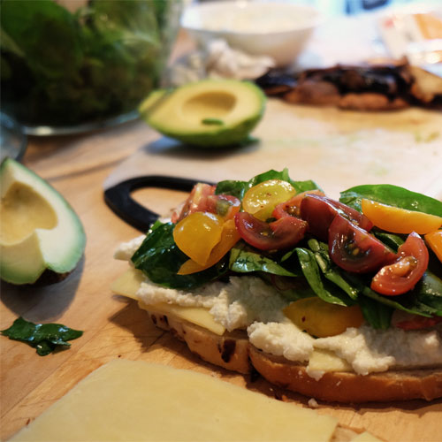 Tartines Froides & Salades